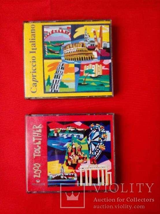 Подарочные наборы классической музыки в виде двух наборов из двух компакт дисков, фото №2