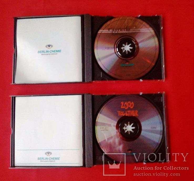 Подарочные наборы классической музыки в виде двух наборов из двух компакт дисков, фото №4