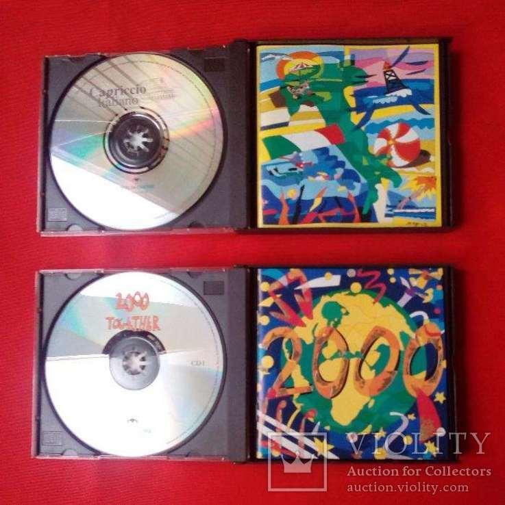 Подарочные наборы классической музыки в виде двух наборов из двух компакт дисков, фото №6