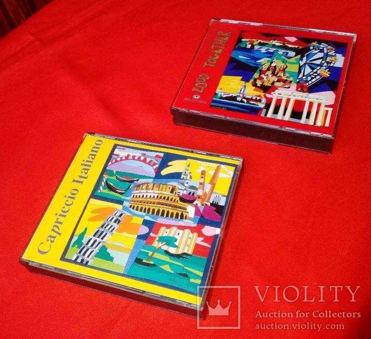 Подарочные наборы классической музыки в виде двух наборов из двух компакт дисков, фото №8