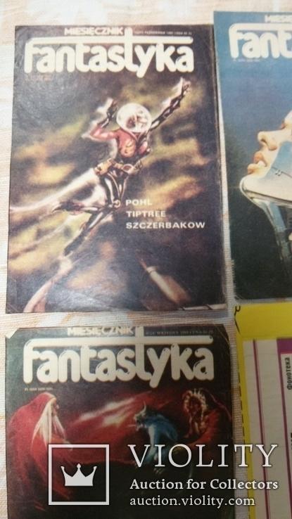 Вырезки из журнала  90-е фантастика, фото №3