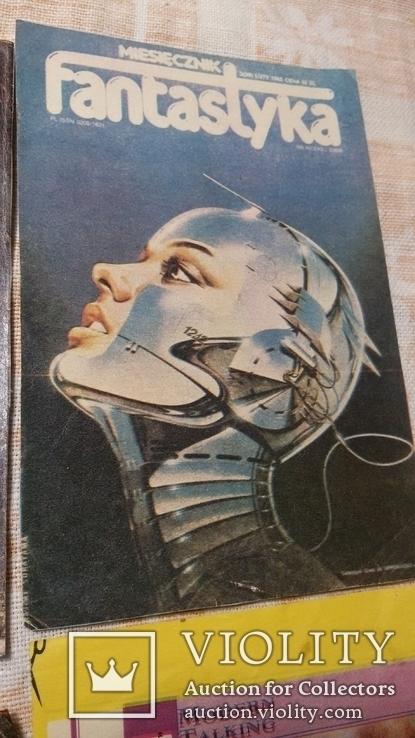 Вырезки из журнала  90-е фантастика, фото №5