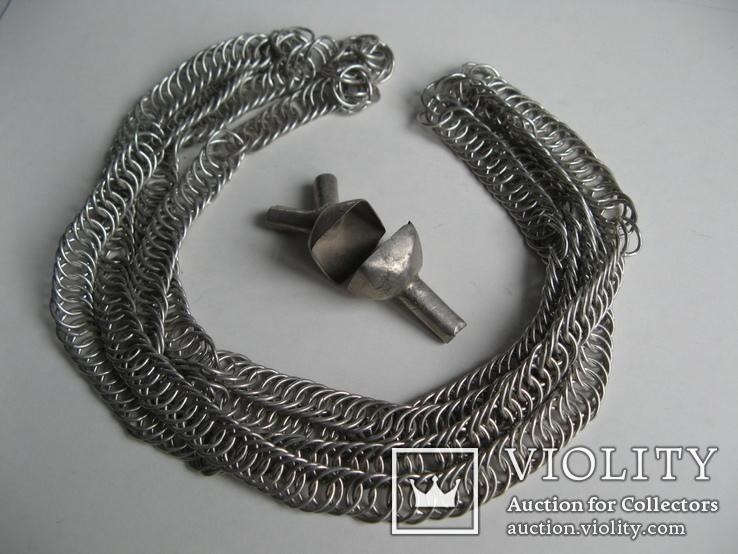Серебряная цепь шляхтича. 16 - 17 вв., фото №5
