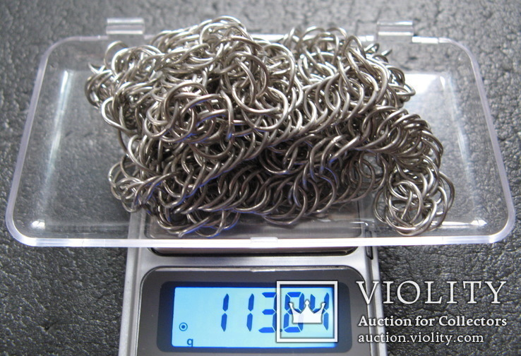 Серебряная цепь шляхтича. 16 - 17 вв., фото №8