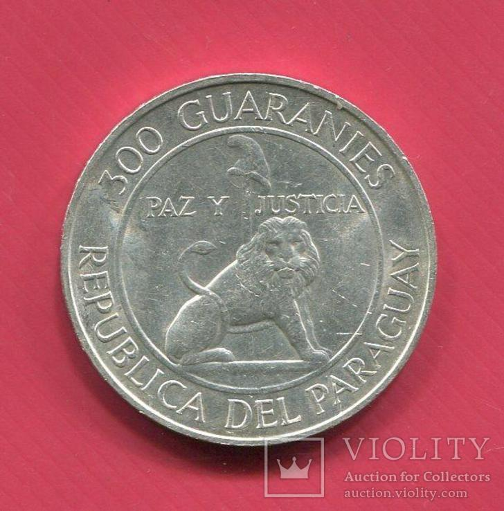 Парагвай 3000 гуарани 1973 aUNC  Лев