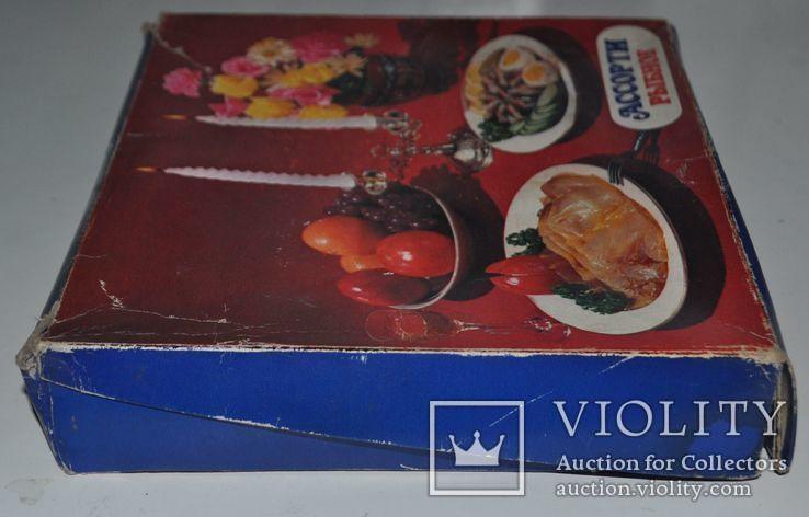 """Коробка рыбного набора """"Ассорти рыбное"""", 24х21х4.5 см., фото №4"""