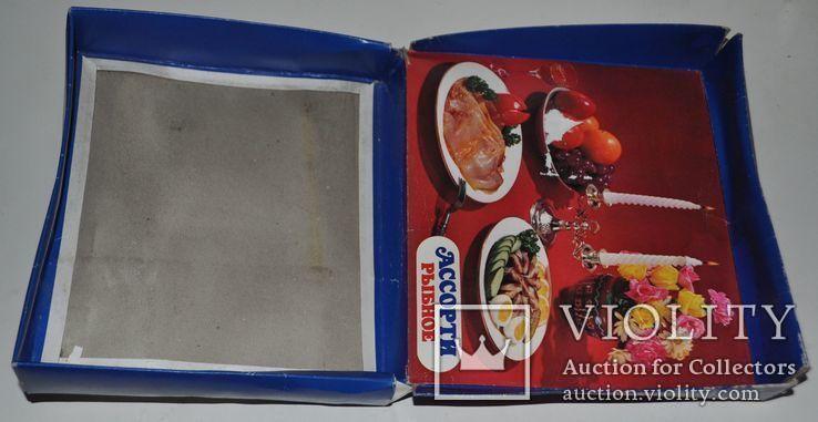 """Коробка рыбного набора """"Ассорти рыбное"""", 24х21х4.5 см., фото №7"""