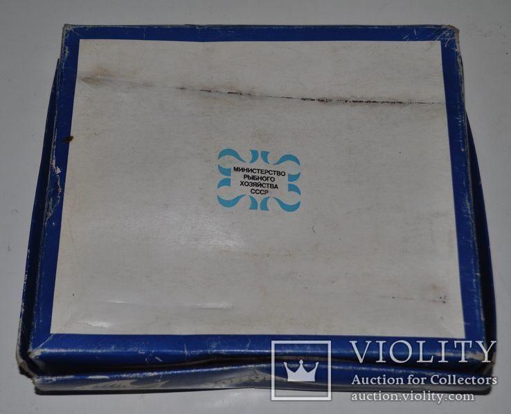 """Коробка рыбного набора """"Ассорти рыбное"""", 24х21х4.5 см., фото №8"""