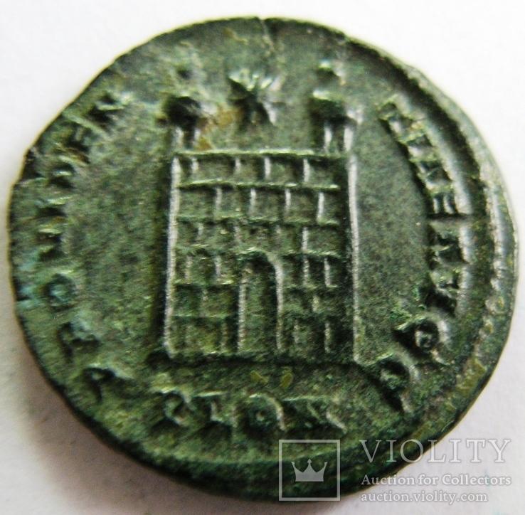 Фоллис, Constantine I (306-310 гг. н.э.), AE 19, фото №2