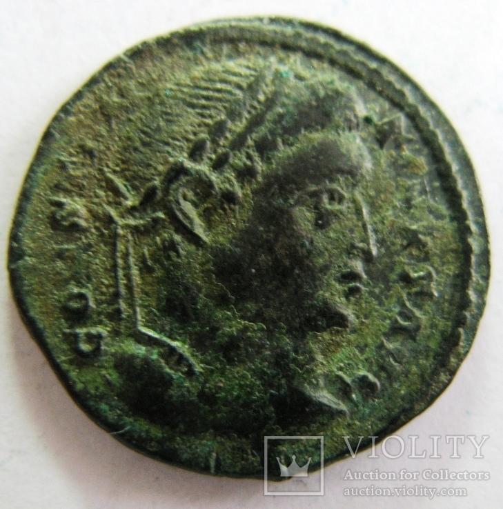 Фоллис, Constantine I (306-310 гг. н.э.), AE 19, фото №3