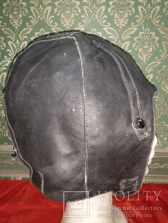 Летный Шлем .1959года кожа, фото №5
