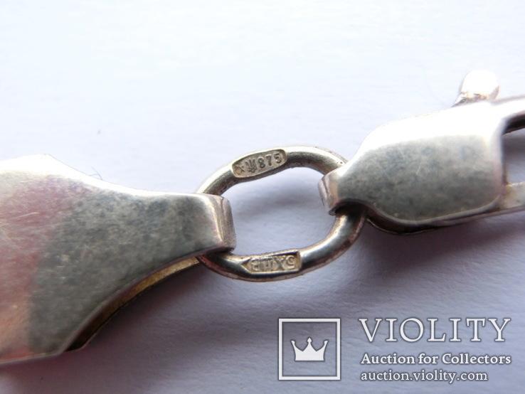 Цепь Серебро 875пр. Вес 19 грамм., фото №8