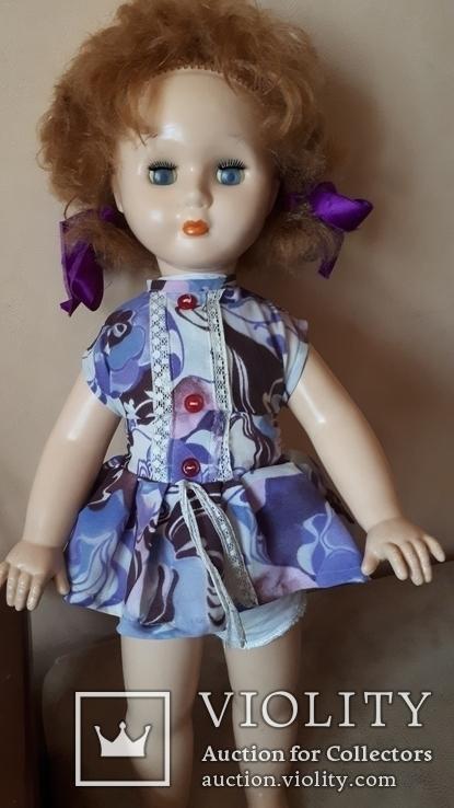 Старая кукла .57 см., фото №2