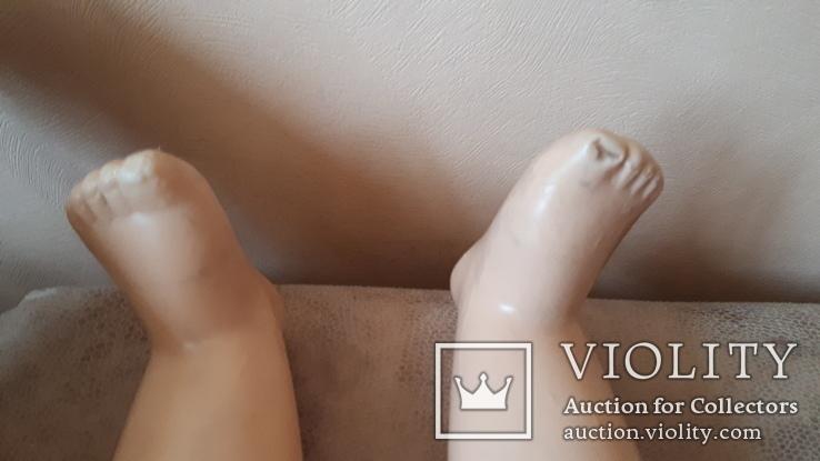 Старая кукла .57 см., фото №7