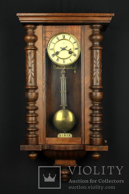 b990c82b7 Старые немецкие настенные часы Junghans. - «VIOLITY» Auction & Antiques