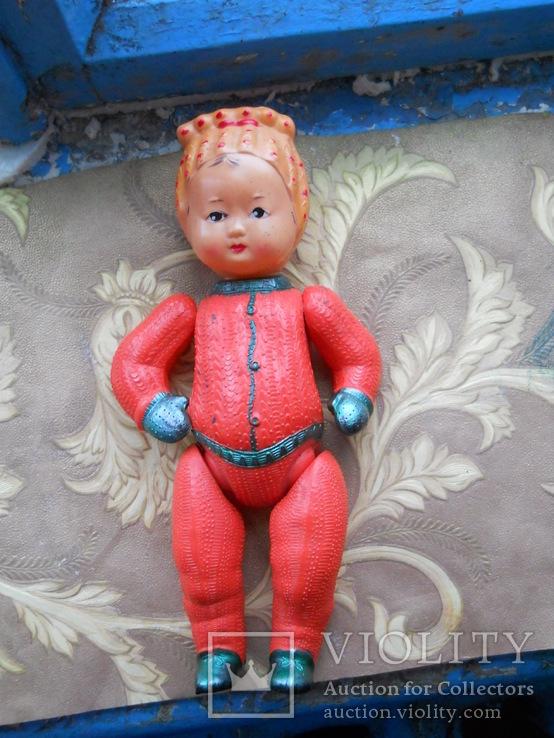 Советская кукла из целлулоида (колкий пластик)