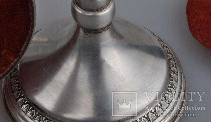 Подсвечники. Серебро 925., фото №8
