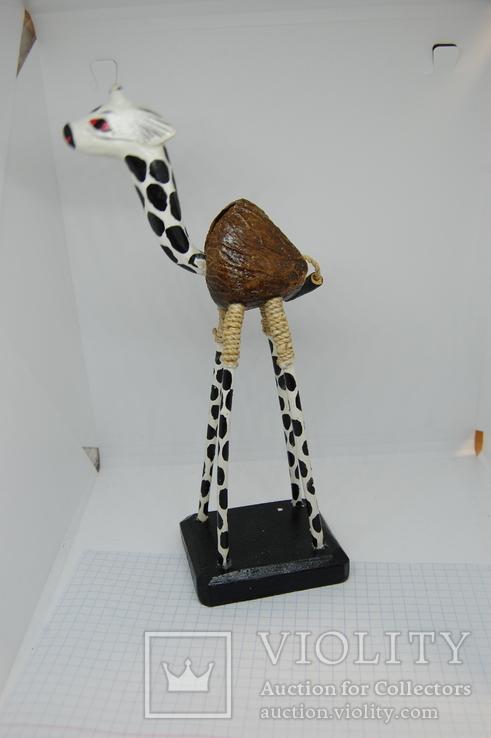 Жираф Качающий головой 205мм, фото №4