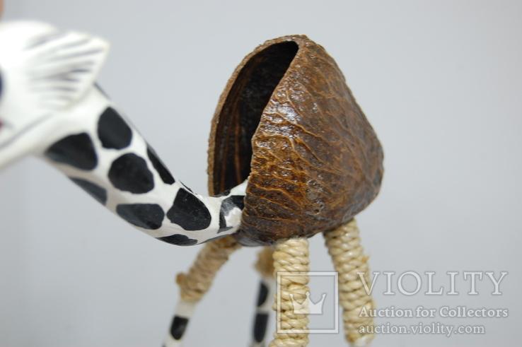 Жираф Качающий головой 205мм, фото №7