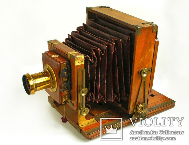 Фотоаппарат деревянный,конец 1800-х г.г.,Англия