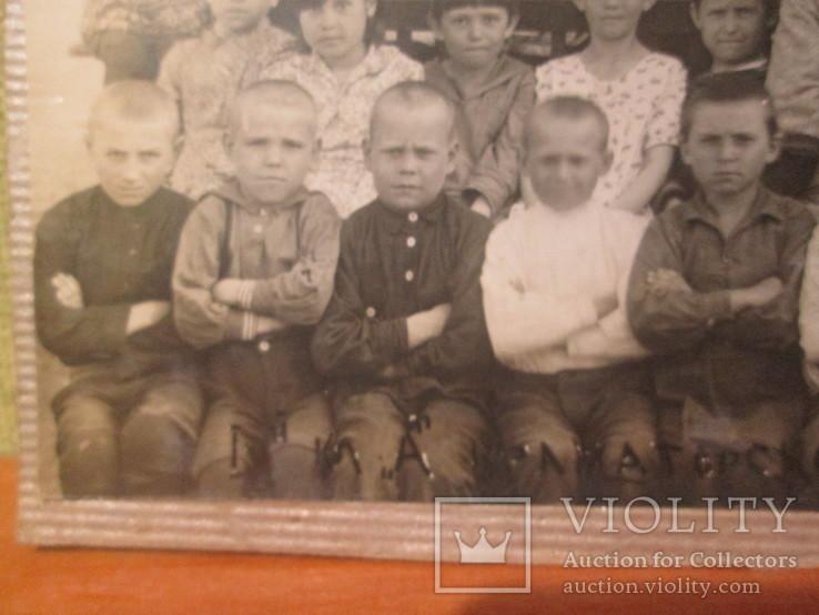 Фото Школьный класс. 1940 год ., фото №6
