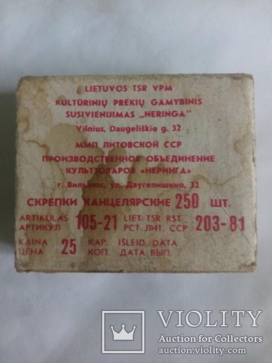 Скрепки канцелярские 250 шт., фото №3