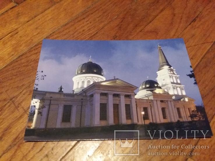 Открытка Одесса Спасо-Преображенский собор, фото №2