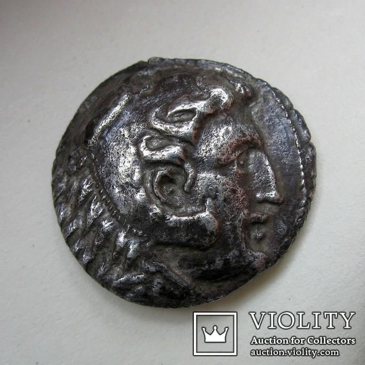 Галатские кельты, подражание тетрадрахме Александра