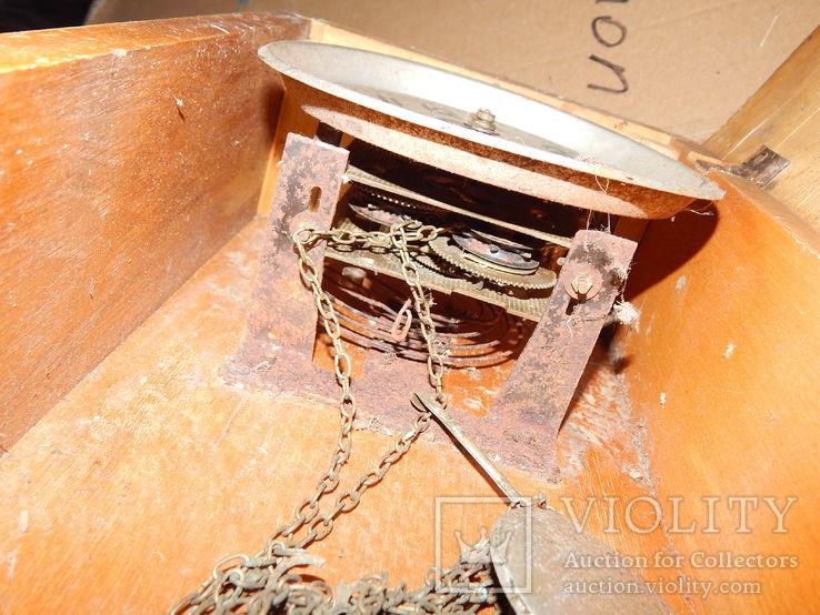 Часы настенные маяк с боем 9856, фото №6