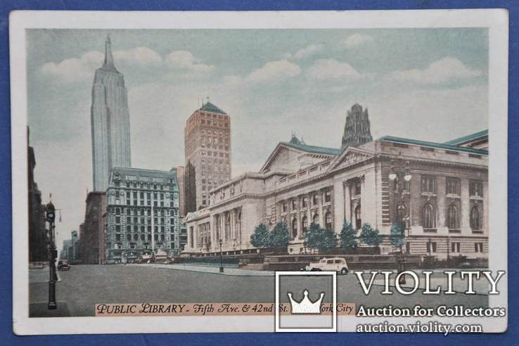 Нью-Йорк. Публичная библиотека., фото №2