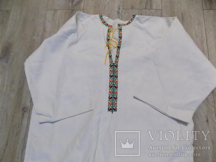 Покутська буденна полотняна сорочка в чудовому стані, фото №2