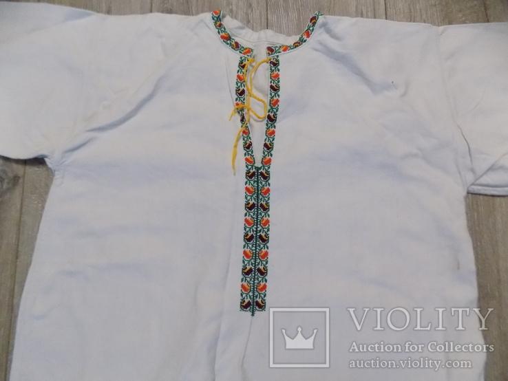 Покутська буденна полотняна сорочка в чудовому стані, фото №4