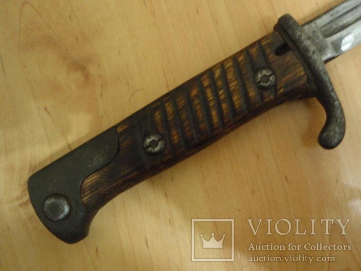 Нож из немецкого штыка, фото №6