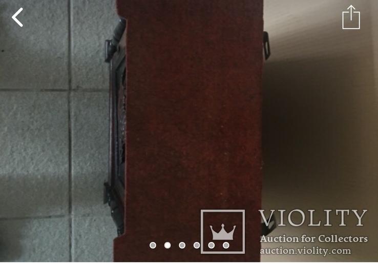 Навесной шкафчик резной, фото №3