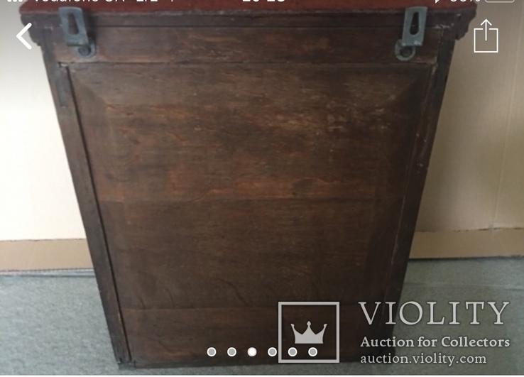 Навесной шкафчик резной, фото №4