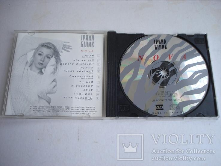 """Ирина Билык """"NOVA"""", компакт - диск., фото №3"""