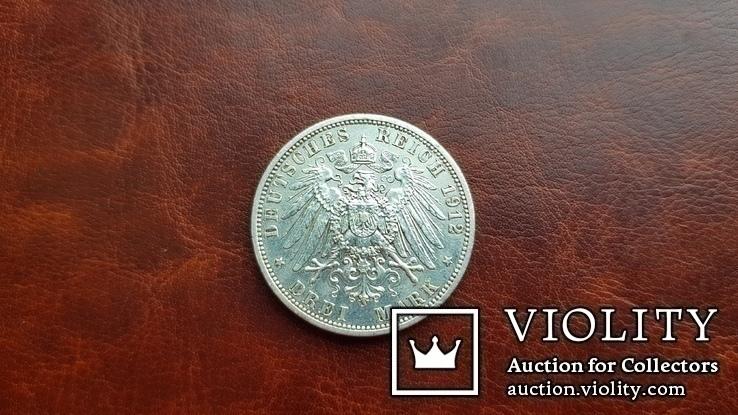 3 марки 1912 г.  Свободный город Любек., фото №8