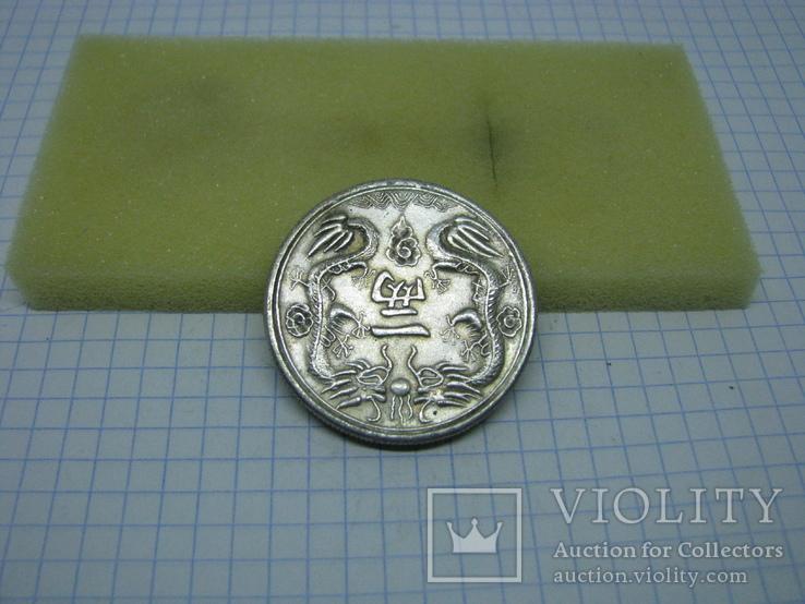 Монета Китай. Драконы. копия, фото №2
