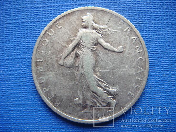 1 франк 1910,Франция, фото №3