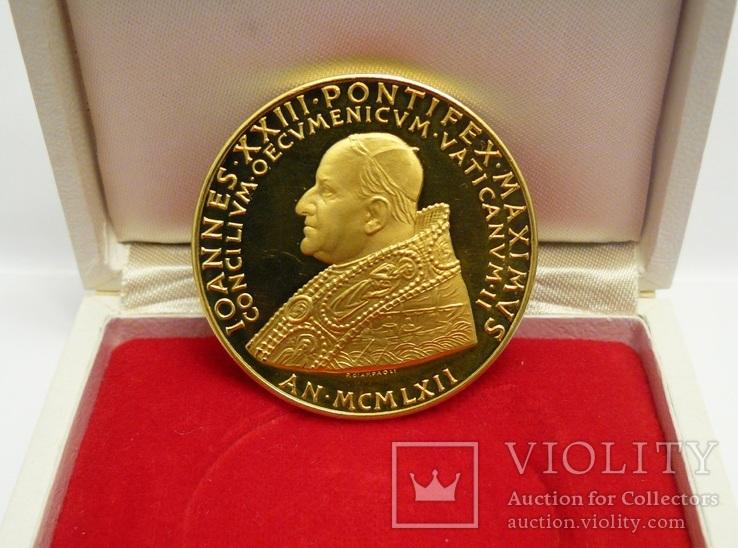 """Монета - медаль """"Иоанн XXIII"""" 1962 года. Ватикан"""