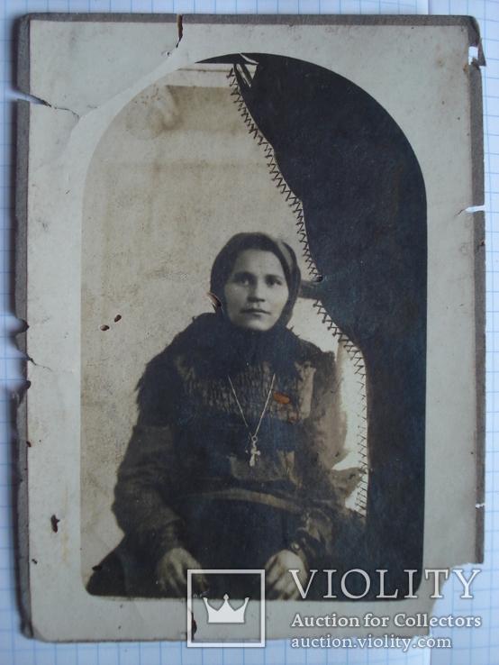 Фото женщины в платке., фото №2