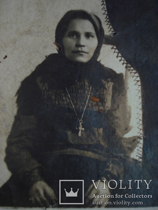 Фото женщины в платке., фото №3
