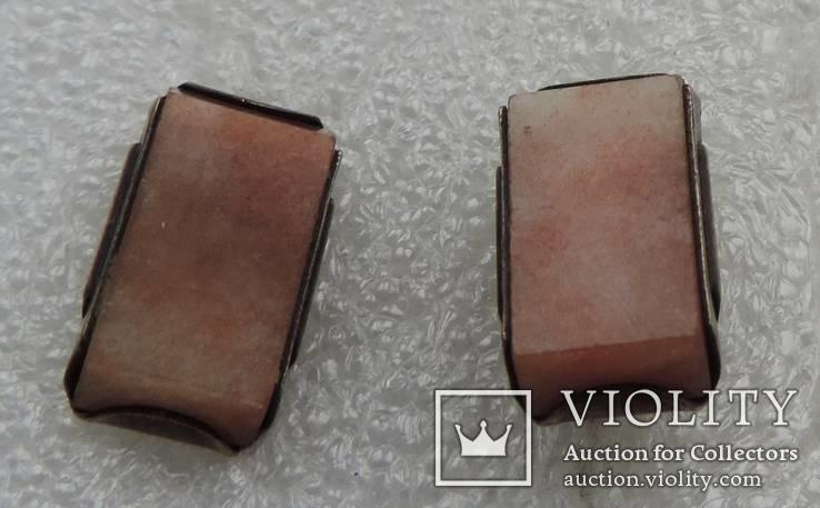 Запонки серебренные №33, фото №5