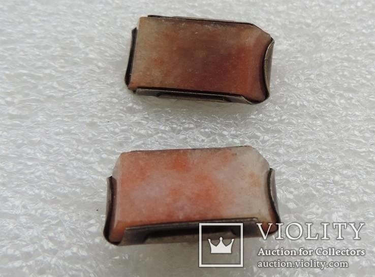 Запонки серебренные №33, фото №6