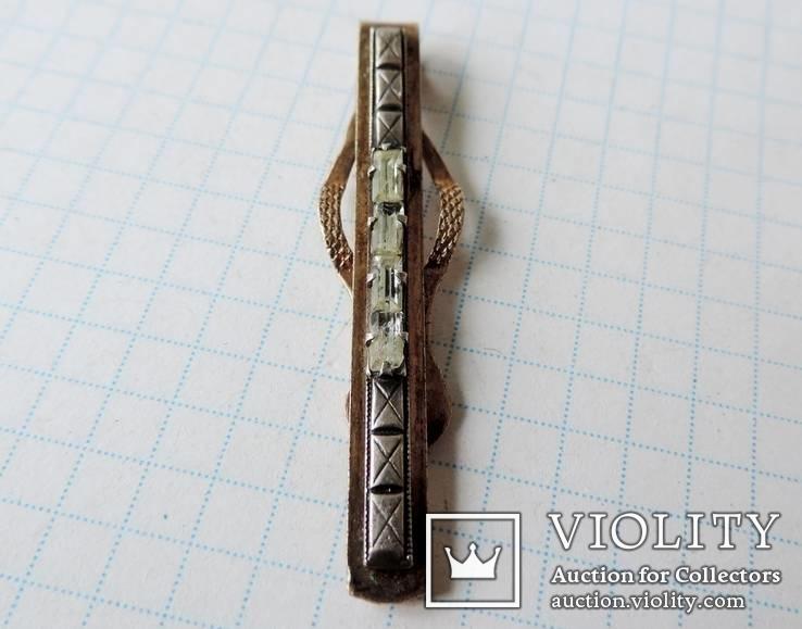Заколка (зажим) для галстука 875 пр №7, фото №6