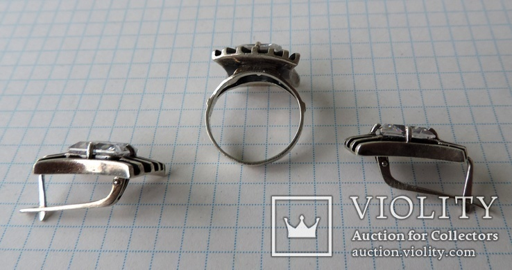 Серьги + кольцо (1), фото №4