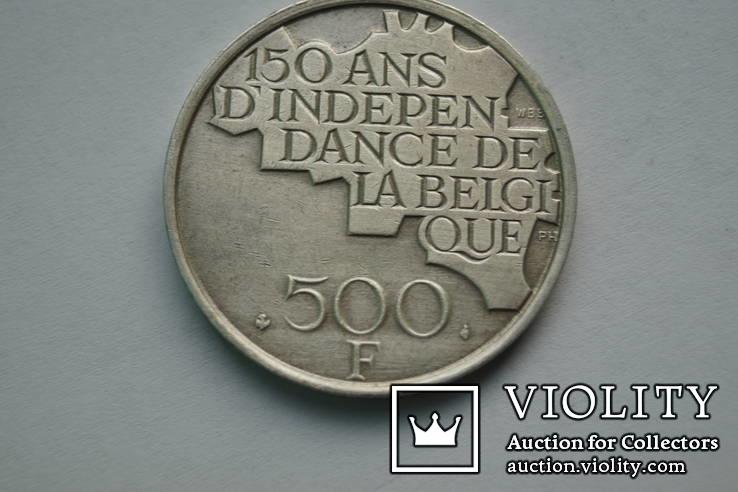 500 франків Бельгія. 1980 р., фото №2
