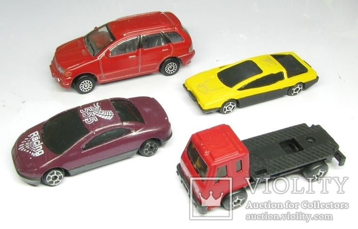 Модели автомобилей  Разные 4 штуки, фото №3