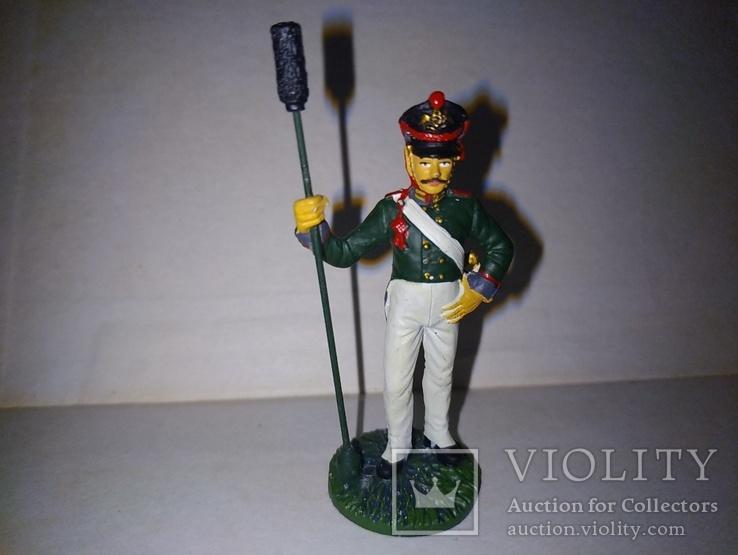 Унтер-офицер артиллерийской бригады 1812г.
