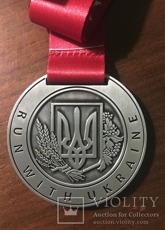 Медаль Нашейная «Забіг у вишиванках», фото №3